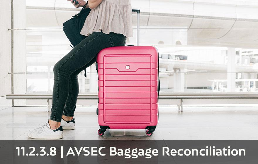 Course Image AVSEC - Requisitos de seguridad en el tratamiento de personas y equipajes 11.2.3.8 Baggage Reconciliation