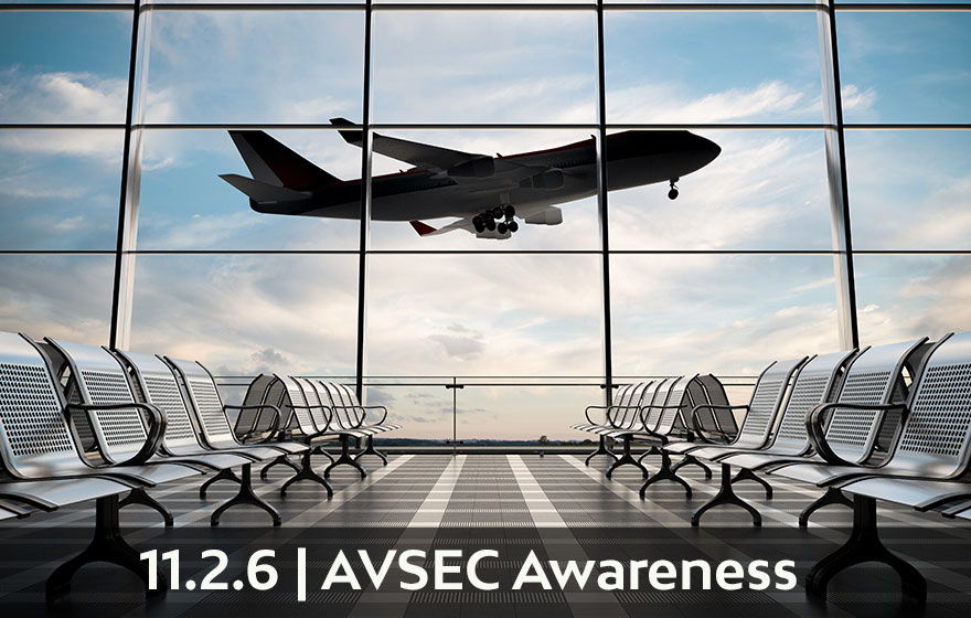 Course Image PNF/ C : AVIATION SECURITY AWARENESS 11.2.6